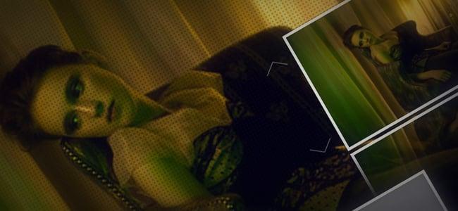 Fullscreen Gallery with Thumbnail Flip