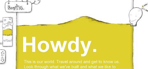 Bowtie Interactivestudio Welovetoimagine www bowtieperiod com 40+ Beautiful Cartoon Style Creative Website Designs