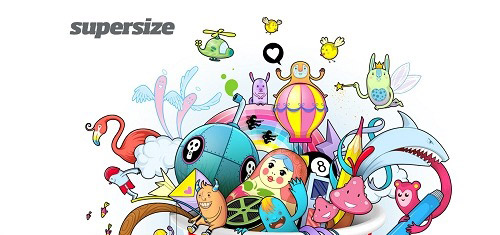 HelloSupersizewww supersize co il 40+ Beautiful Cartoon Style Creative Website Designs