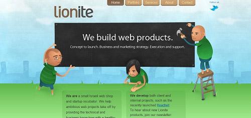 HomeLioniteInternetVentureslionite com 40+ Beautiful Cartoon Style Creative Website Designs