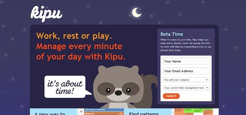 KipuItsAboutTimewww meetkipu com 40+ Beautiful Cartoon Style Creative Website Designs
