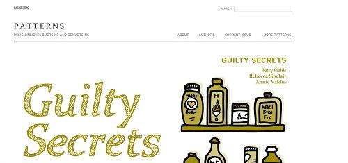 PatternsfromIDEOpatterns ideo com 40+ Beautiful Cartoon Style Creative Website Designs