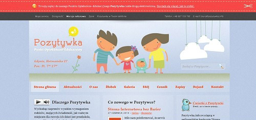 Pozytywka PunktOpiekunczoEdukacyjny PrywatnePrzedszkoleiZlobek Gdyniapozytywk 40+ Beautiful Cartoon Style Creative Website Designs