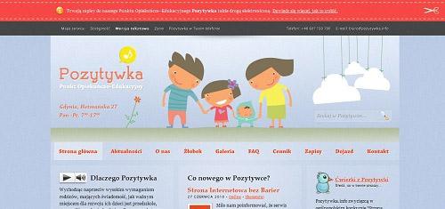 Pozytywka PunktOpiekunczoEdukacyjny PrywatnePrzedszkoleiZlobek Gdyniapozytywk 40+ Beautiful Cartoon Style Creative Website Designs