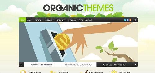 PremiumQualityWordPressWebsiteandBlogTemplatesbyOrganicThemeswww organictheme 40+ Beautiful Cartoon Style Creative Website Designs