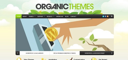 PremiumQualityWordPressWebsiteandBlogTemplatesbyOrganicThemeswww organictheme 40+ Beautiful Cartoon Style Creative Website Designs