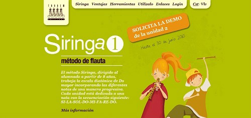 Siringa1MtododeflautaparalaslneasdemsicadeprimariaeditadoporTndemEdicionswww  40+ Beautiful Cartoon Style Creative Website Designs