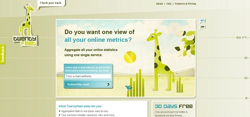 TwentyFeetwww twentyfeet com 40+ Beautiful Cartoon Style Creative Website Designs