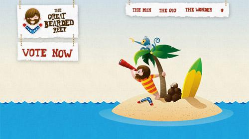 thegreatbeardedreef 40+ Beautiful Cartoon Style Creative Website Designs