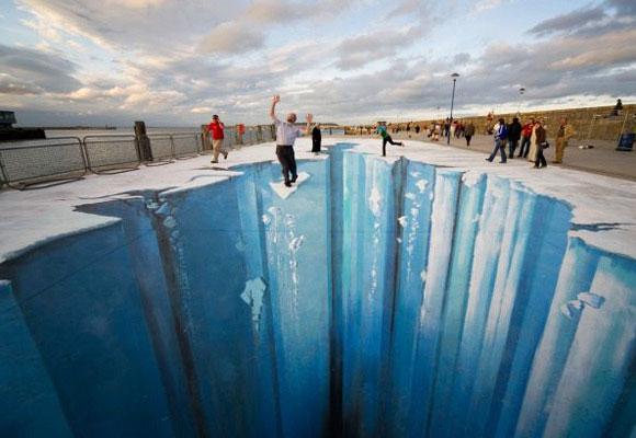 Edgar Müller's 3D Street Art
