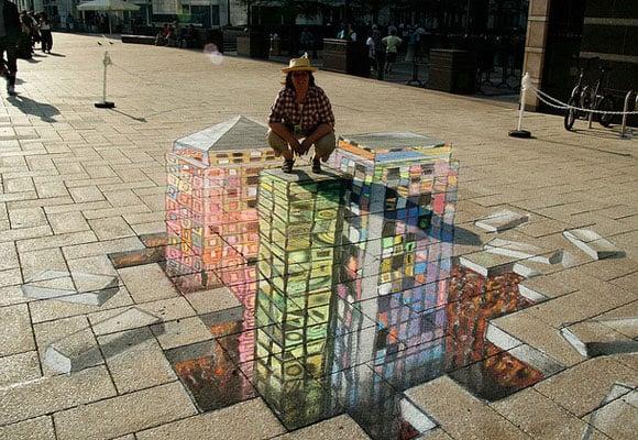 Canary Wharf 3D