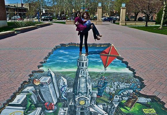Wasabi 3D Street Art