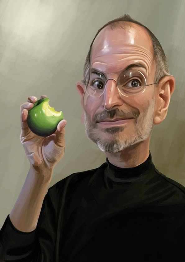 Collection of Steve Jobs Illustrations