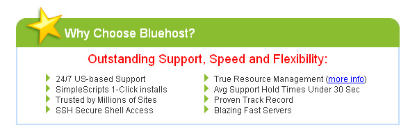 10 Web Hosting Accounts From Bluehost Giveaway