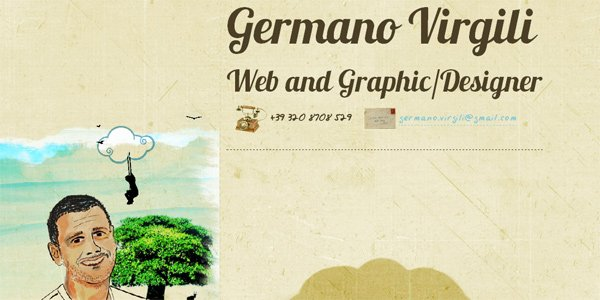Germanovirgili.com in Parallax