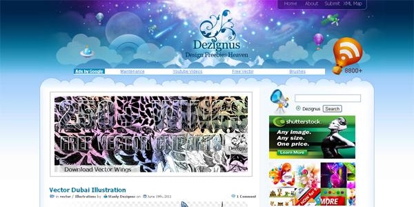 Dezignus.com in Parallax
