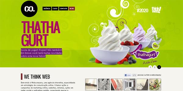 Webcompany.com.br in Parallax