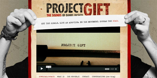Iamprojectgift.com in Parallax