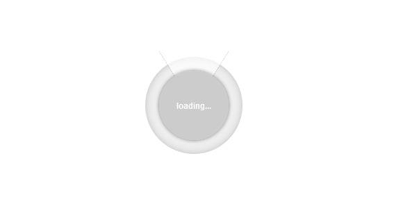 CSS3 Loading Spinner