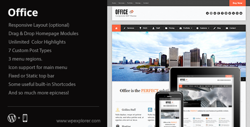 Office Responsive Business Theme