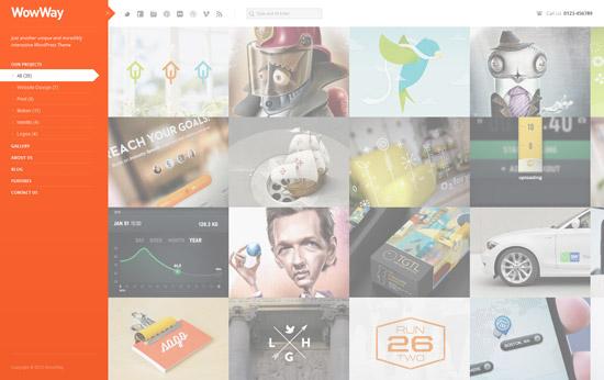 WowWay - Interactive & Responsive Portfolio Theme