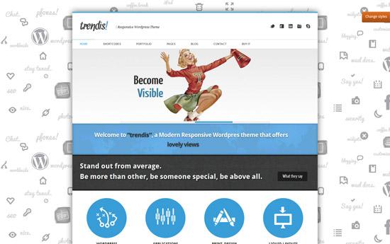 Trendis Responsive WordPress Theme