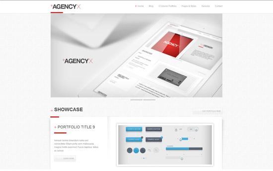 AGENCY X - Premium WordPress Theme