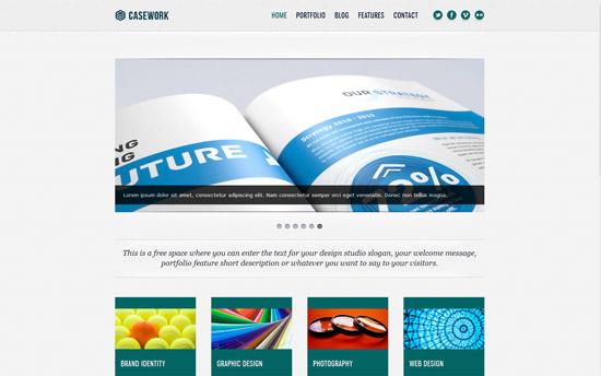 Casework - Design Studio Portfolio & Blog Template