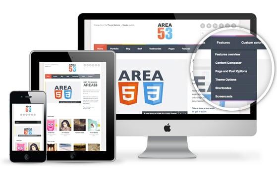area53-responsive-wordpress-theme