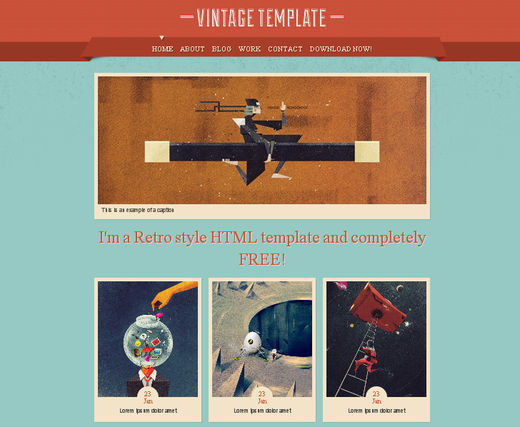 HTML5 and CSS3 Free Templates