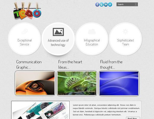 Collection of 51 Free HTML5 and CSS3 Templates
