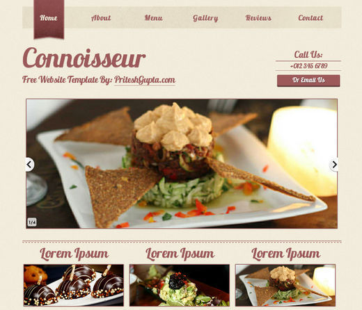 Collection Of 51 Free Html5 And Css3 Website Templates