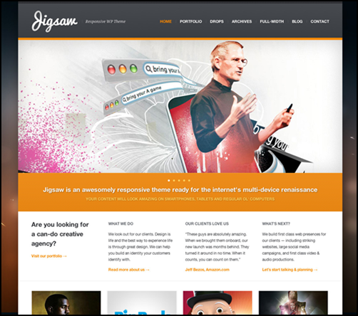 Jigsaw – Responsive WordPress Theme