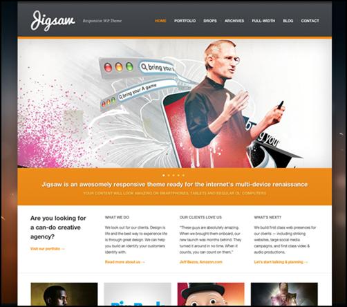 Jigsaw – Responsive WordPress Theme