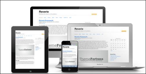 Versatile HTML5 Responsive WordPress Framework