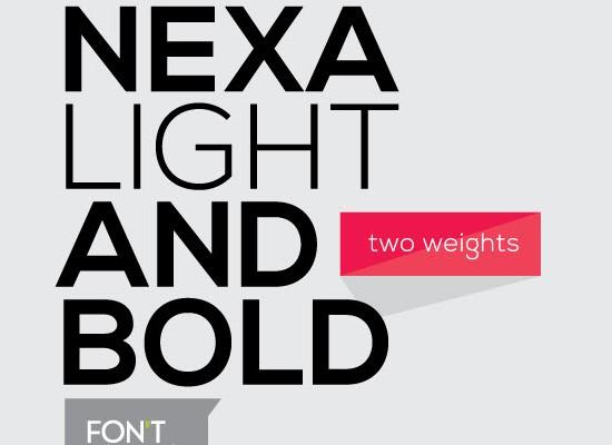 Nexa (Free Font)