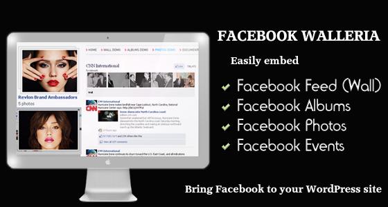 WordPress Facebook Plugins: Walleria