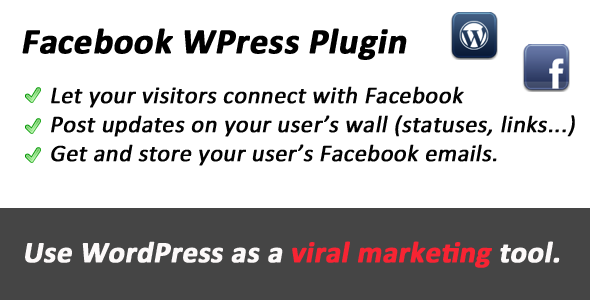 Facebook WordPress Viral Tool