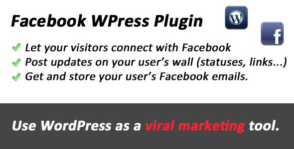 Facebook WordPress Viral Tool