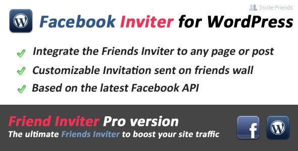 Facebook Friends Inviter for WordPress