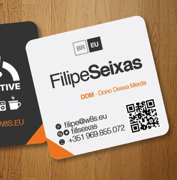 Mini square business cards business cards creative business cards square business card source colourmoves Images