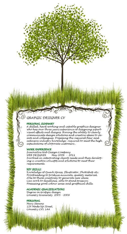 Graphic Resume Designs