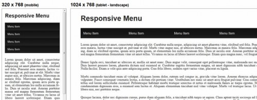 Responsive Drop Down Navigation Menu
