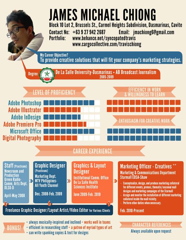 Resume Design 2012