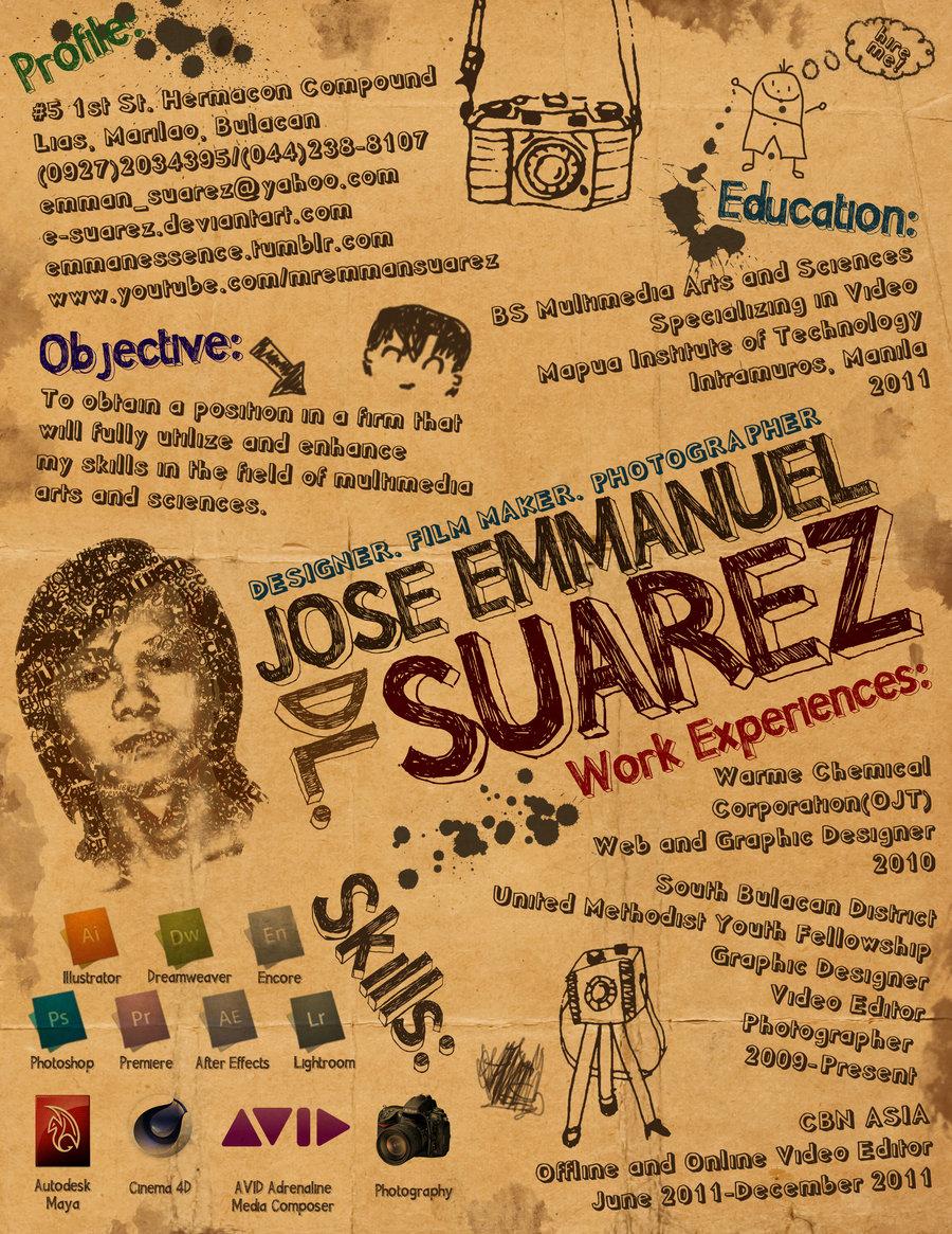 Creative Resume by Suarez