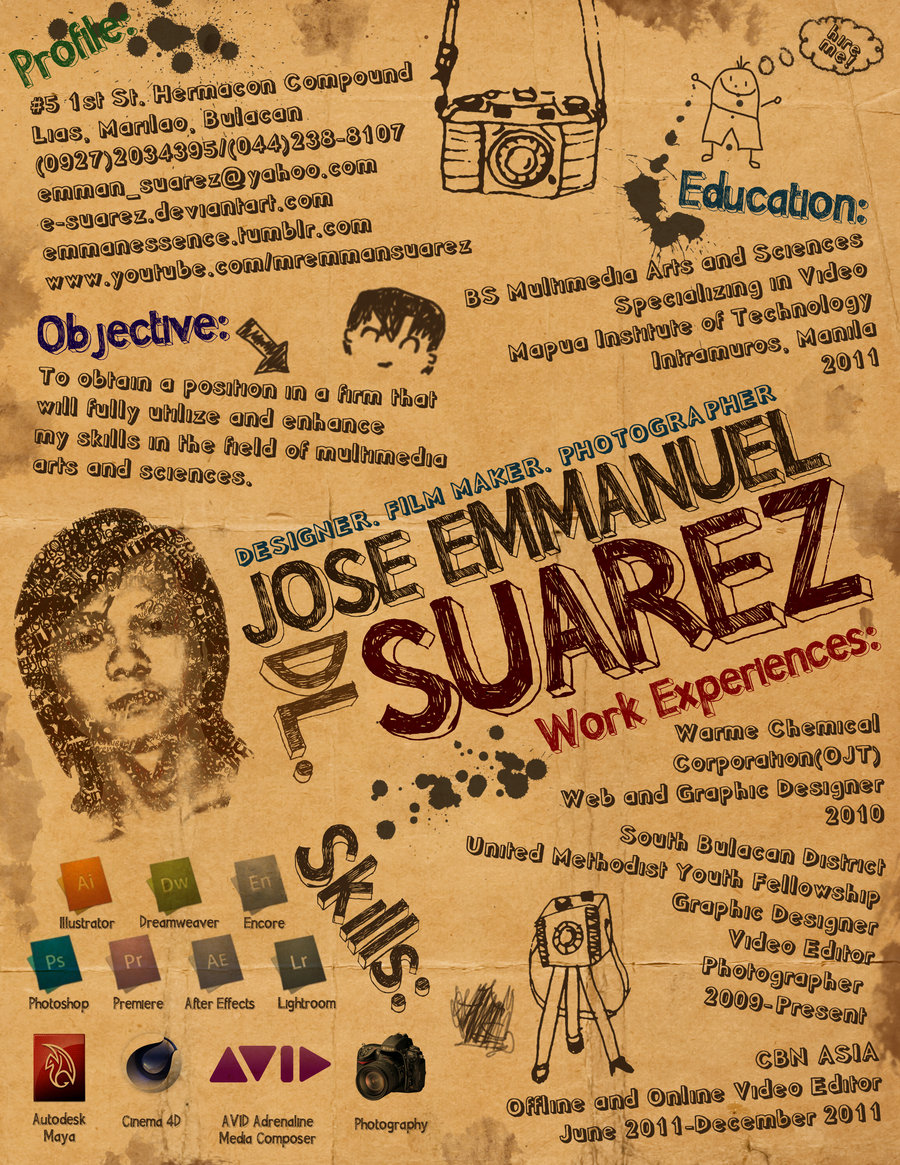 Creative Resume by Suarez