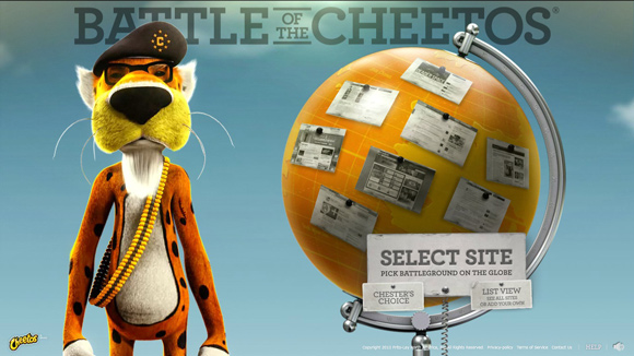 Battle of the Cheetos