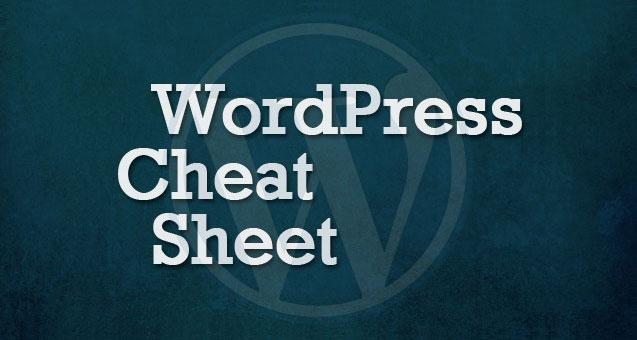 wordpress-cheat-sheet