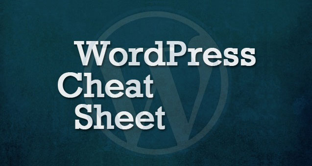 wordpress-cheat-sheet