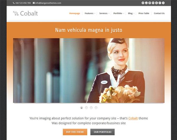 Cobalt - Responsive WordPress Theme